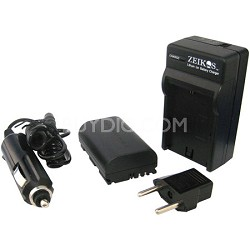 LP-E6 Battery + Charger for Canon EOS 5D Mark III, 5D Mark II, 7D and 60D