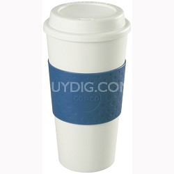 16-Ounce Capacity Acadia Reusable To Go Mug - Blue (2510-9966)