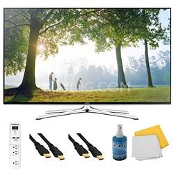 """UN50H6350 - 50"""" HD 1080p Smart HDTV 120Hz with Wi-Fi Plus Hook-Up Bundle"""