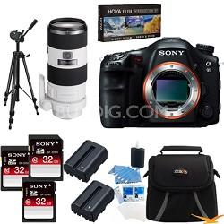 Alpha SLT-A99V 24.3 MP SLR Camera (Black) + SAL70200 f2.8 Full Frame Lens