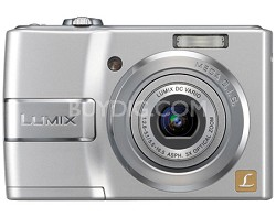 "DMC-LS80S (Silver) Lumix 8 Megapixel Digital Camera w/3x Optical Zoom & 2.5"" LCD"