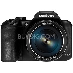 WB1100F 16.2MP 720p HD Video Smart Digital Camera - Black