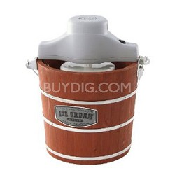4-Quart Wooden Ice-Cream Maker