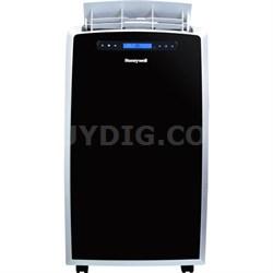 14,000 BTU Portable Air Conditioner with Heat Pump - Black/Slvr - OPEN BOX