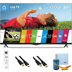 "49"" 2160p 120Hz 3D Smart LED 4K Ultra HDTV WebOS Plus Hook-Up Bundle (49UB8500)"
