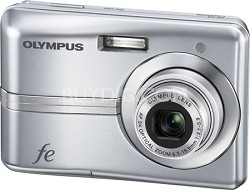 "FE-25 10MP 2.4"" LCD Digital Camera (Silver)"