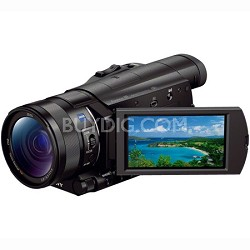 FDR-AX100/B 4K Camcorder with 1-inch Sensor