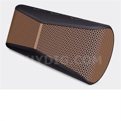 X300 Mobile Wireless Stereo Speaker in Black Brown - 984-000392