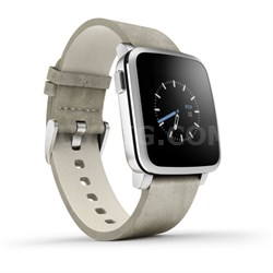 Time Steel Smart Watch for iPhone and Android Devices - Silver (511-00023)