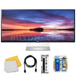 "34UM95-C 34"" 21:9 3440 x 1440 Resolution UltraWide WQHD IPS LED Monitor with Kit"