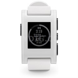 Smart Watch for iPhone and Android Devices - White (301WH)