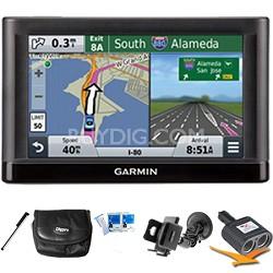 "nuvi 56 Essential Series GPS Navigator 5"" Display Plus Ultimate Bundle"
