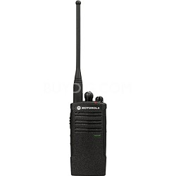 RDV5100 On-Site 10 Channel VHF Water-Resistant Two-Way Business Radio - Black