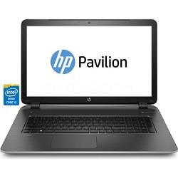 """Pavilion 17-f030us 17.3"""" HD+ Notebook PC - Intel Core i3-4030U Pro. OPEN BOX"""