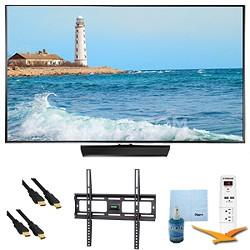 """40"""" Slim Full HD 1080p LED Smart TV 60Hz Plus Mount & Hook-Up Bundle - UN40H5500"""