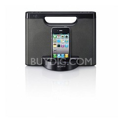RDP-M5iPBLK Speaker dock for iPod and iPhone (Black)