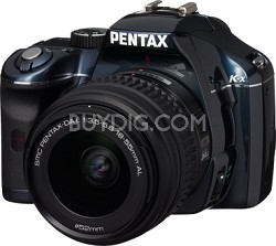 K-x Digital SLR Lens Kit w/ DA L 18-55mm Lens (Navy)
