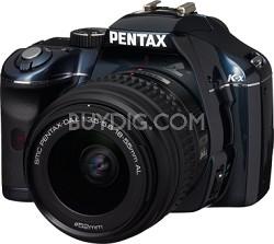 K-x Digital SLR Lens Kit w/ DA L 18-55mm Lens (Navy)
