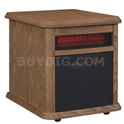 9HM9126-O142 Portable Electric Infrared Quartz Heater, Oak