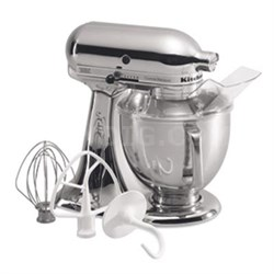 5-Quart Tilt-Head Stand Mixer in Chrome - KSM152PSCR