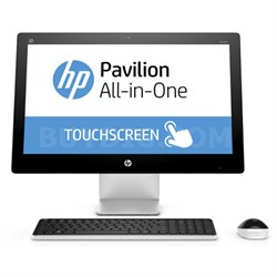 "Pavilion 23-q110 23"" AMD A8-7410 Quad-Core All-in-One Touchscreen - OPEN BOX"