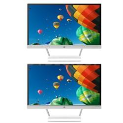 """2 Pavilion 22xw 22"""" IPS LED Full HD Backlit Monitors Bundle"""