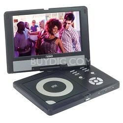 """DVD-NPD950  9"""" TFT LCD Swivel Screen Portable DVD Player With USB/SD inputs"""
