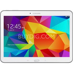 "Galaxy Tab 4 White 16GB 10.1"" Tablet - 1.2 GHz Quad Core, Android 4.4, Kit Kat"