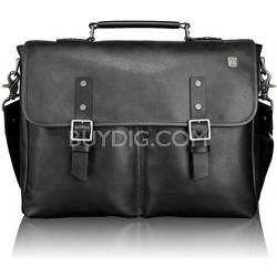 T-Tech Forge Olympic Flap Leather Brief 054692D - Black