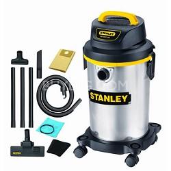 Portable Stainless Steel Series Horsepower Wet or Dry Vacuum Cleaner