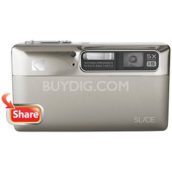 "Slice 14MP 3.5"" LCD Touchscreen Digital Camera (Nickel)"