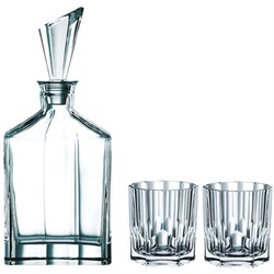 Highland Aspen Decanter set, 3 pieces (90024)