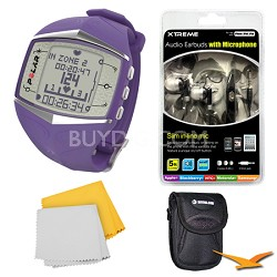 FT60 Heart Rate Monitor - Lilac Bundle