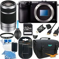 NEX7/B - NEX-7 24.3 MP Black Camera Bundle w/ 55-210mm Lens & 32GB Memory