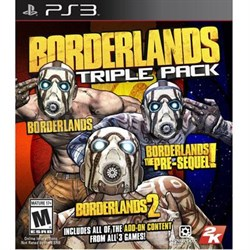 Borderlands Triple Pack PS3