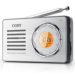 CX50 Compact AM/FM Radio with Digital Display