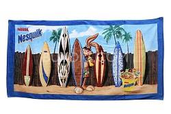 Bunny Nestle Collectors 100% Cotton Oversized 35 X 70 Beach Towel