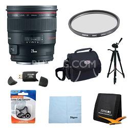 EF 24mm f/1.4L II USM Lens Exclusive Pro Kit
