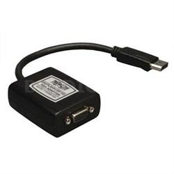 Displayport to VGA Adapter 6in
