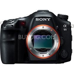 Alpha SLT-A99V 24.3 MP Full Frame SLR (Black Body Only) - OPEN BOX