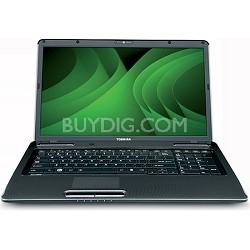 """Satellite 17.3"""" L675-S7113 Notebook PC Intel Core i3-380M Processor"""