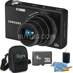 WB210 Black Digital Camera 4 GB Bundle