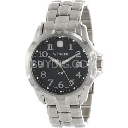 Men's GST Swiss Watch - Black Dial/Stainless Steel Bracelet