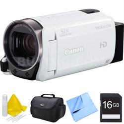 VIXIA HF R700 Full HD Black Camcorder Bundle - White