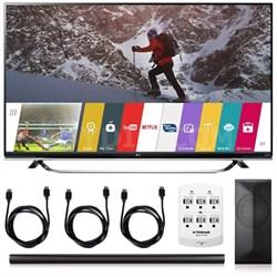 65UF8500 - 65-inch 4K 3D Ultra HD Smart LED + LAS751M 4.1 Channel Soundbar