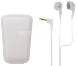Ultra Soft/Comfortable Ear Bud Headphones (White)