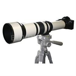 650-1300mm F8.0-F16.0 Zoom Lens  (White Body) - 650Z - OPEN BOX