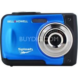 Splash WP10 12MP Waterproof Camera (Blue)