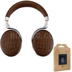 Zik 3 Wireless Noise Cancelling Touch Control Bluetooth Headphones Brwn +Battery