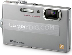 DMC-FP8S LUMIX 12.1 MP Digital Camera (Silver)